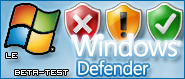 Windows Defender article logo beta-test